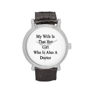 Mon épouse est cette fille chaude qui est égalemen montres cadran