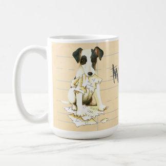 Mon Fox Terrier doux a mangé mon travail Mug