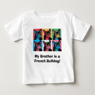 Mon frère est un bouledogue français ! t-shirt