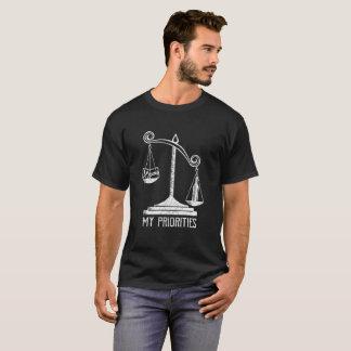Mon genièvre prioritaires incline le T-shirt