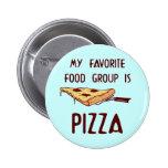 Mon groupe d'aliments préféré est pizza badges