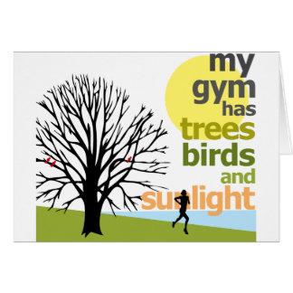 Mon gymnase a des arbres cartes
