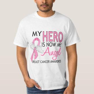 Mon héros est mon cancer du sein d'ange t-shirt