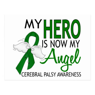 Mon héros est mon infirmité motrice cérébrale carte postale
