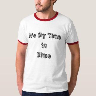 Mon heure de mimer le T-shirt