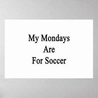 Mon lundi est pour le football