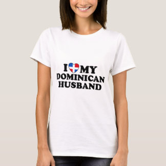 Mon mari dominicain t-shirt