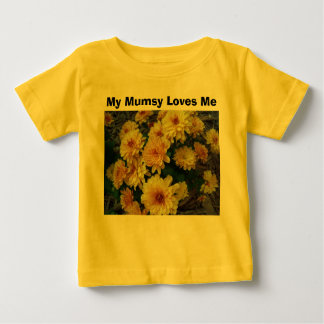 Mon Mumsy m'aime T-shirt Pour Bébé