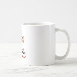 Mon nom du chef mug blanc