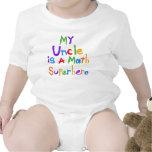 Mon oncle Math Superhero T-shirts et cadeaux
