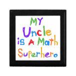 Mon oncle Math Superhero T-shirts et cadeaux Coffrets Cadeaux