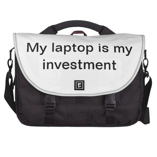 Mon ordinateur portable mon investissement sac ordinateur portable