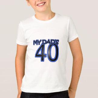 Mon papa 40 t-shirt