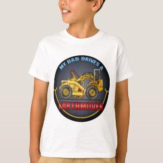 Mon papa conduit un T-shirt d'enfants de grattoir