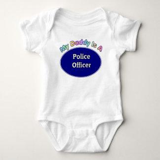 Mon papa est des cadeaux d'un bébé de policier body
