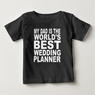Mon papa est le meilleur wedding planner du monde t-shirt