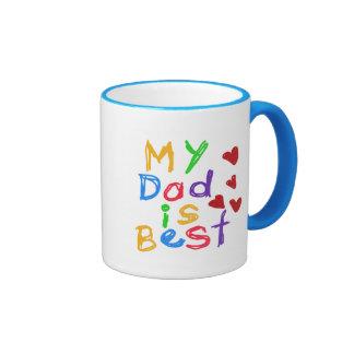Mon papa est le meilleurs T-shirts et cadeaux Tasses