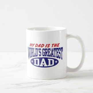 Mon papa est le plus grand papa du monde tasse
