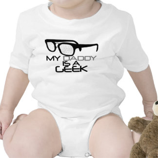 Mon papa est un geek t-shirts