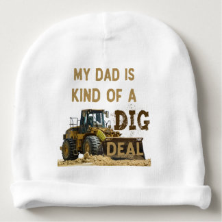 Mon papa est un peu une affaire de FOUILLE Bonnet De Bébé