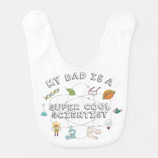 Mon papa est un scientifique frais superbe (le bavoir de bébé