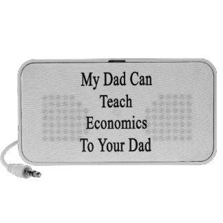 Mon papa peut enseigner l'économie à votre papa haut-parleur iPhone