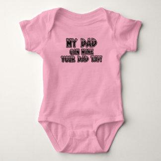 Mon papa peut inciter votre papa à taper t-shirt