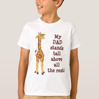 Mon PAPA tient la girafe grande - T-shirt