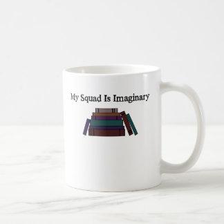 Mon peloton est tasse de café imaginaire