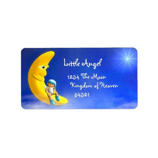 Mon petit ange : Étiquettes de lune