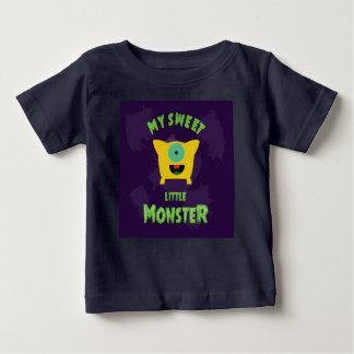 Mon petit monstre doux t-shirt pour bébé