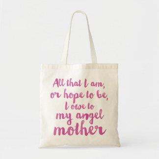 Mon sac du jour de mère d'ange