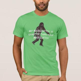 Mon sasquatch est plus futé t-shirt