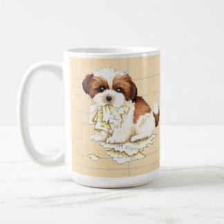 Mon Shih Tzu a mangé mon travail Mug