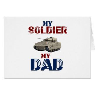 Mon soldat mon réservoir de papa cartes