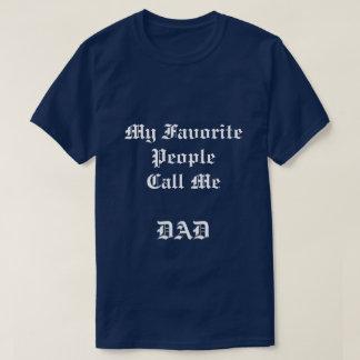 Mon T-shirt préféré de bleu marine des personnes