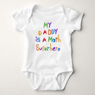 Mon T-shirts et cadeaux de super héros de maths de