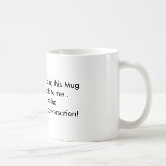 Mon temps de café mug