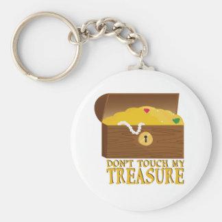 Mon trésor porte-clé rond