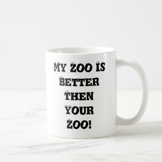 mon zoo mug blanc