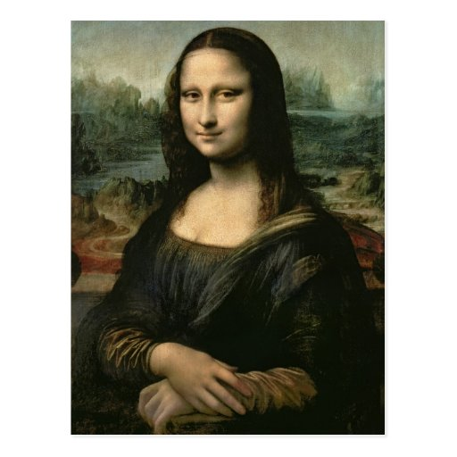 Mona Lisa, c.1503-6 Carte Postale