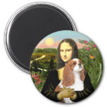 Mona Lisa - cavalier de Blenheim (f) Magnets