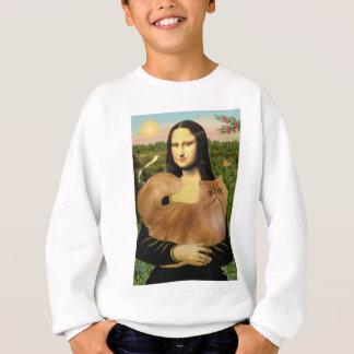 Mona Lisa - chat persan rouge Sweatshirt