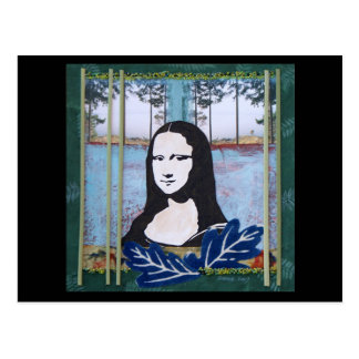 Mona Lisa dans le pays Cartes Postales