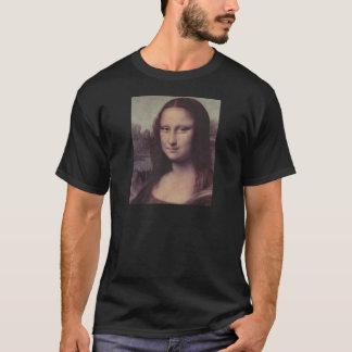 Mona Lisa font face T-shirt