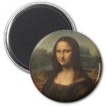 Mona Lisa (La Gioconda) Magnet Rond 8 Cm