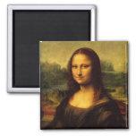 Mona Lisa Magnet Carré