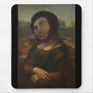 Mona Lisa reconstituée Tapis De Souris