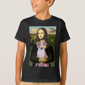 Mona Lisa - whippet (#7 rouge-clair) T-shirt