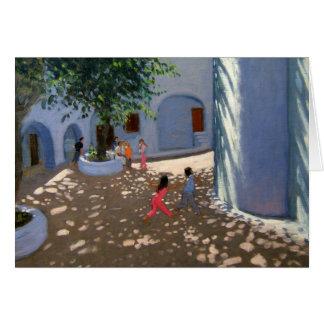 Monastère de Mykonos Carte De Vœux